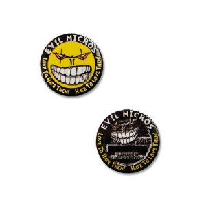 2015 Evil Micros Micro Geocoin - Black Nickel